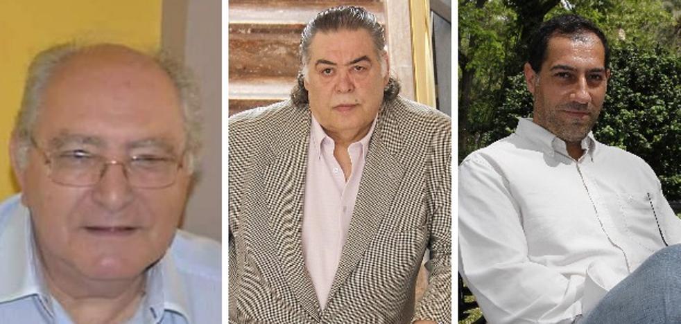 José Luengo Solís, Juan López Corrales y Jesús Sellers, Cofrades del Año de la Semana Santa cacereña