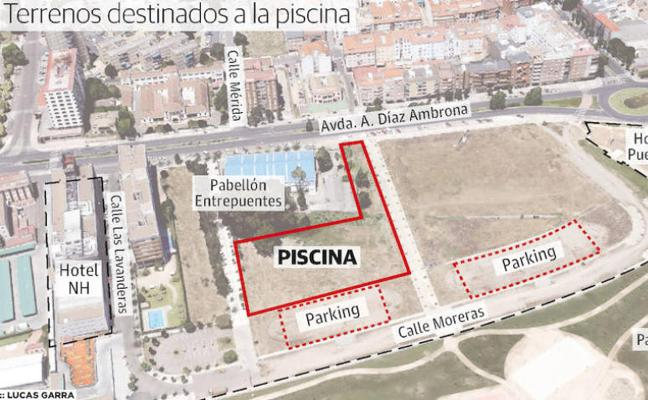El Ayuntamiento de Badajoz sacará a concurso el diseño y construcción de la nueva piscina