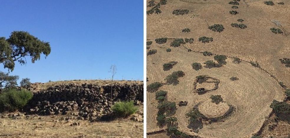 Descubren un poblado calcolítico del tercer Milenio a. C. en Valverde de Burguillos