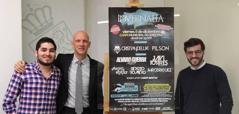Quintana de la Serena celebrará el próximo 8 de diciembre el festival musical 'Invernalia'