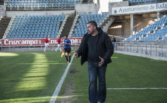 «Somos el Badajoz, no podemos conformarnos con ir a empatar»
