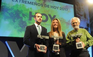 Premiados que pasean el nombre de Extremadura por Europa