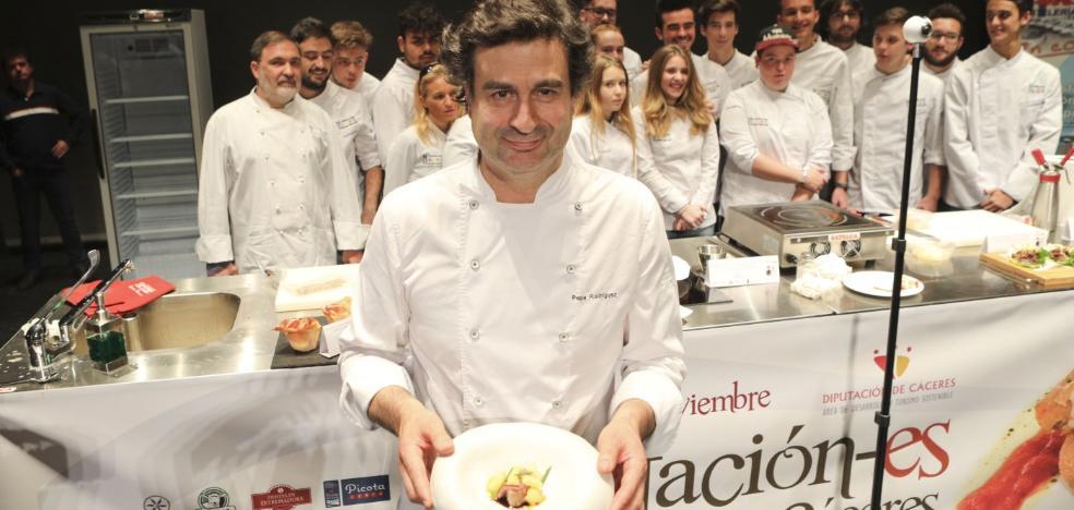 Pepe Rodríguez: «La torta del Casar es una maravilla sola o con helado»