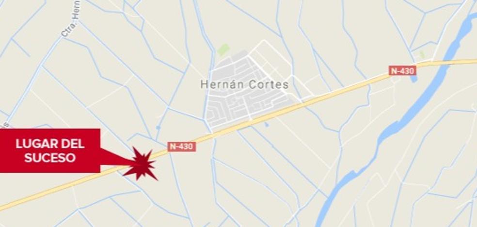 Herido grave un joven tras sufrir un accidente con un quad en Hernán Cortés