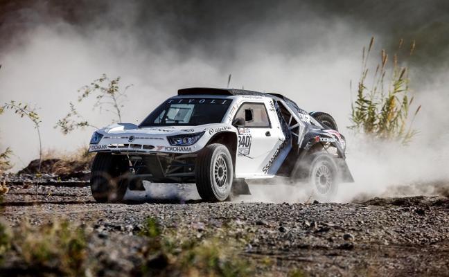 SsangYong disputará el Dakar 2018 con el Tivoli DKR, un 'buggy' de 405 CV