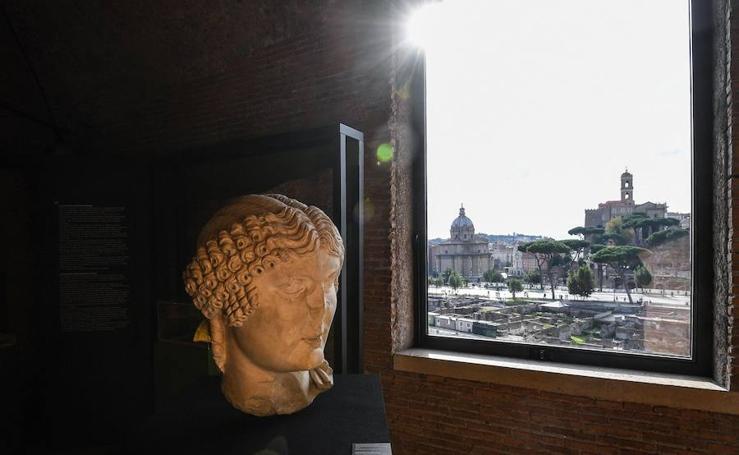 Exposición ''Traiano, costruire l' Impero, costruire l'Europa''