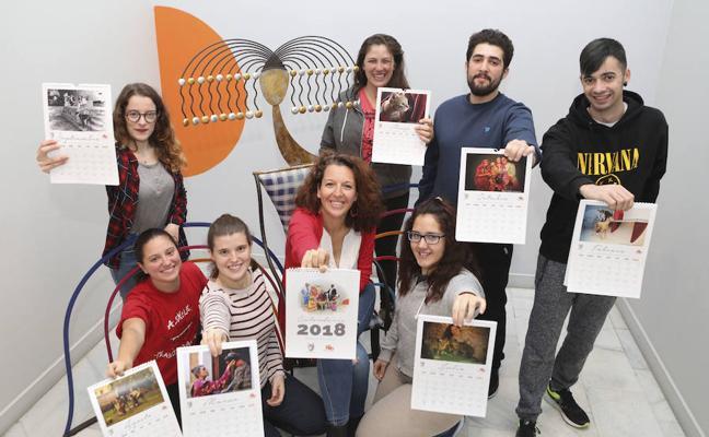 El Refugio San Jorge de Cáceres lanza su calendario solidario