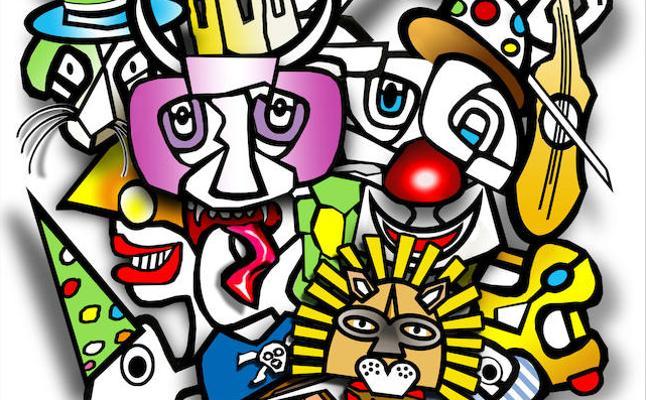 'Colores y Formas' será el cartel anunciador del próximo Carnaval de Badajoz