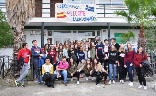Alumnos y profesores suecos viven ocho días en Talarrubias dentro del proyecto Erasmus+