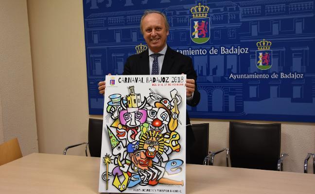 Un cartel de estilo picassiano anunciará el Carnaval del año que viene