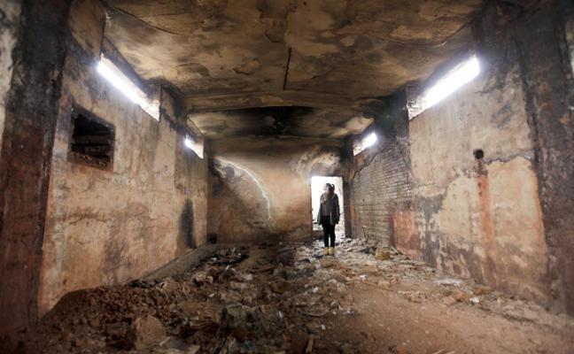 La Junta quiere incluir los refugios del ferial de Cáceres en el Inventario cultural