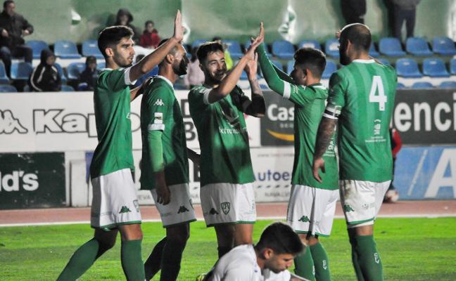 Los suplentes se reivindican con goles ante el Tenerife B