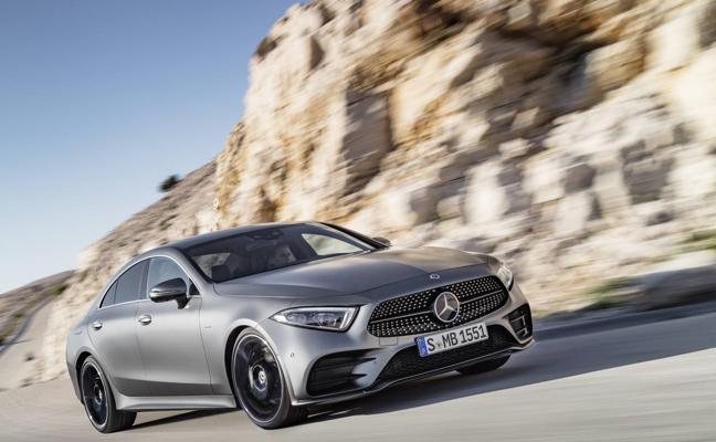 Mercedes CLS, anticipo de nuevos rasgos de diseño