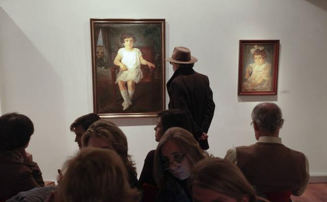 Mercedes Calles exhibe 45 pinturas nunca mostradas antes al público