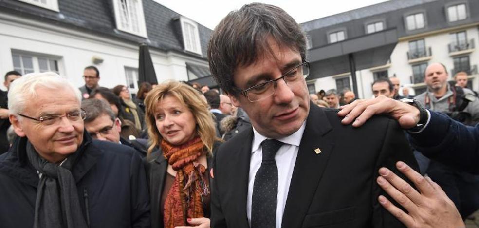 Puigdemont comparecerá ante el juez el lunes a primera hora