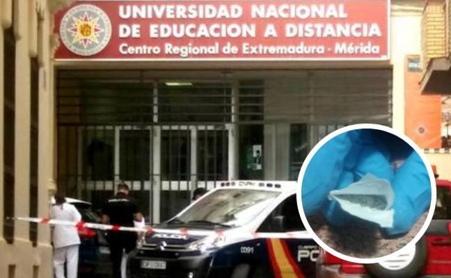 Detenida por el envío de un sobre con polvos a la UNED de Mérida