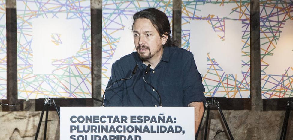 Pablo Iglesias dice que el pacto presupuestario se debe a que Vara «está rectificando»