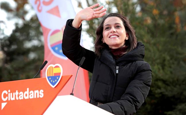 Arrimadas: «Estamos a 20 días de que se acabe el proceso independentista»