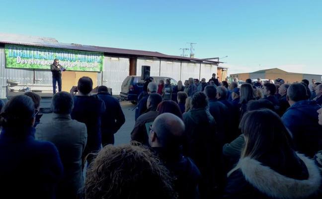 Más de un centenar de personas apoya a la familia investigada en la operación 'Pacote'