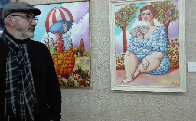 Vito Cano expone hasta el día 10 en Cajalmendralejo