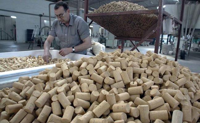 1.300 millones de tapones de corcho extremeño al año