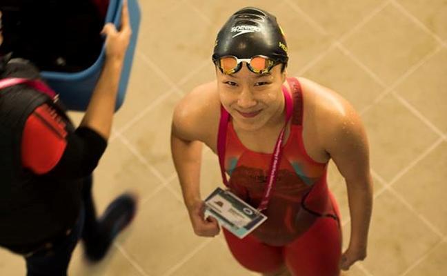 La extremeña Yinghua Hernández, bronce en los 200 estilos en el Mundial Paralímpico de Natación