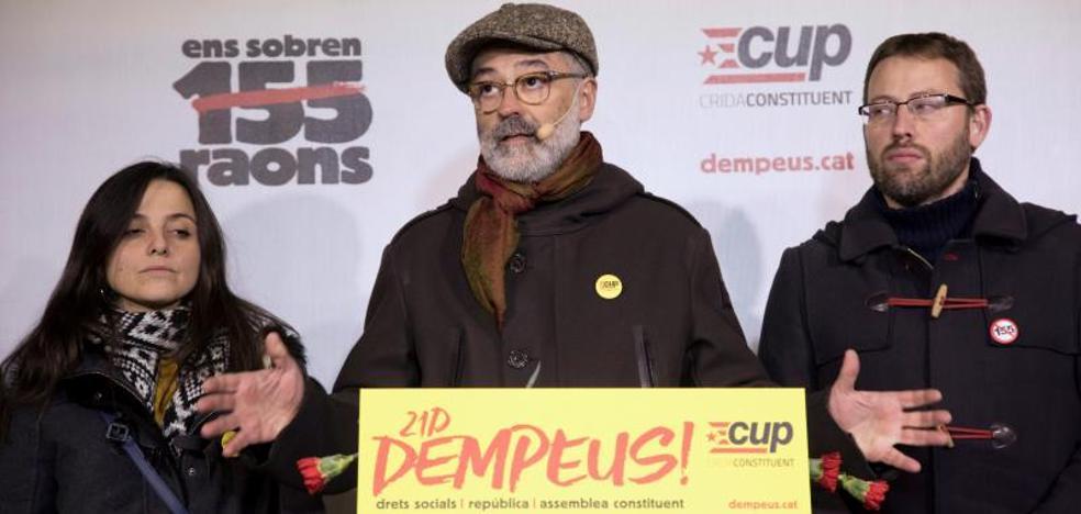 La CUP advierte que no pactará «con los programas autonomistas de ERC y JuntsxCat»
