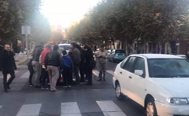 Una mujer atropellada en un paso de peatones de Badajoz