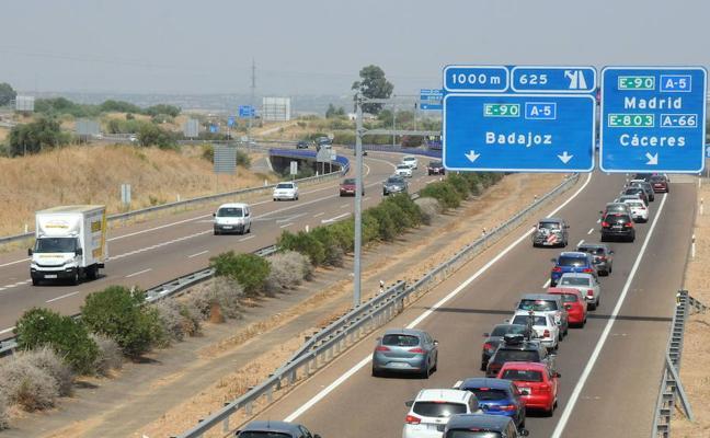105.000 desplazamientos están previstos en Extremadura durante el puente