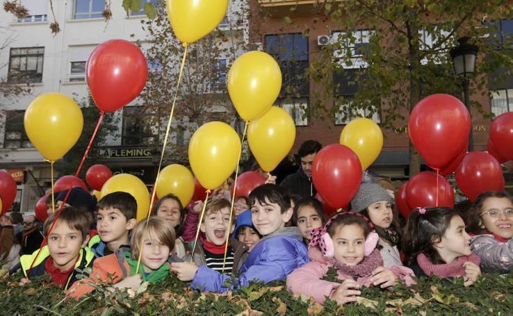 Cáceres conmemora el 39 aniversario de la Constitución Española