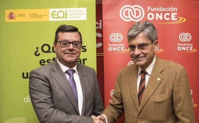 La Fundación ONCE y la EOI impulsarán el emprendimiento de las personas con discapacidad