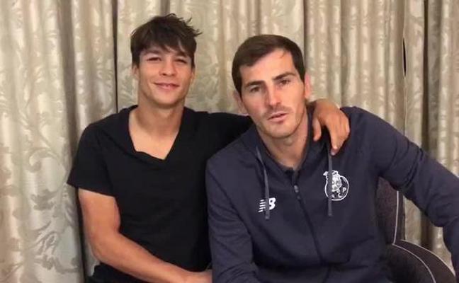Iker Casillas y Óliver Torres, contra el acoso escolar en Navalmoral