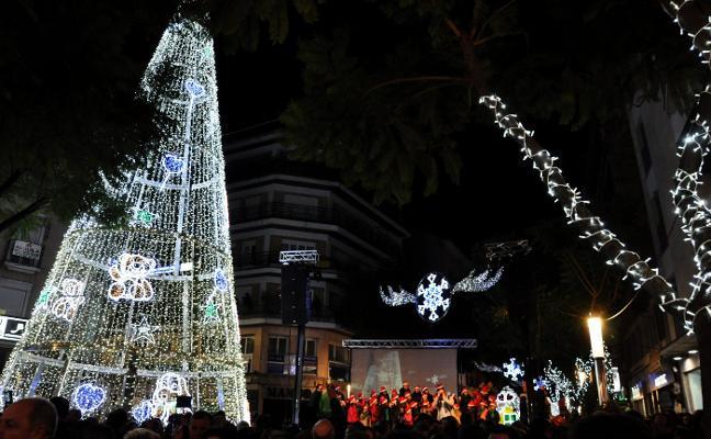 Don Benito ilumina su Navidad