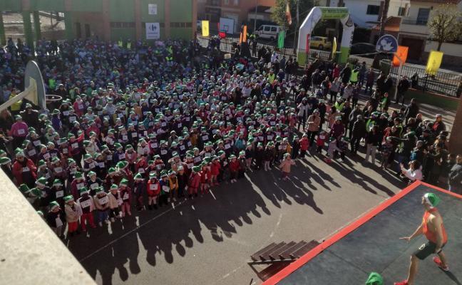 La San Silvestre del Montero de Espinosa reúne a 850 escolares