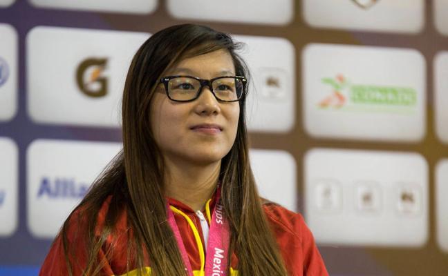 La extremeña Yinghua Hernández, medalla de plata en el Mundial Paralímpico de Natación