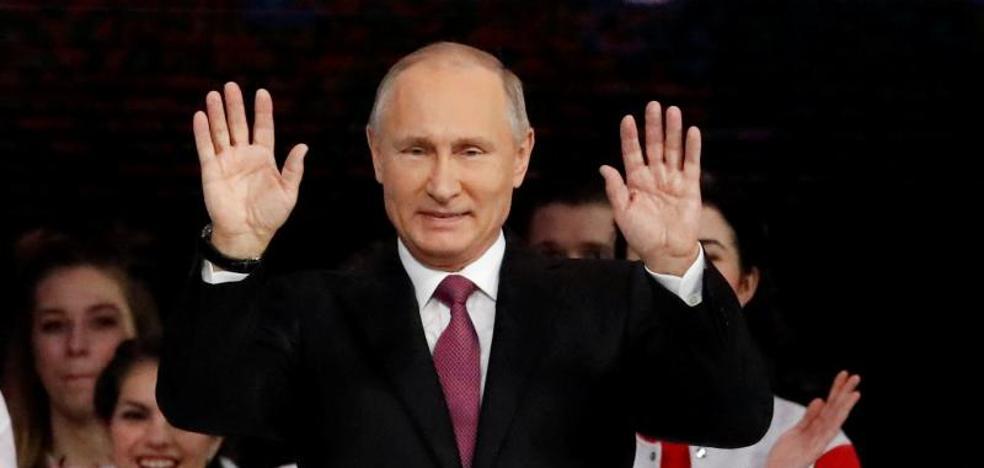 Putin anuncia su candidatura a la reelección para las presidenciales de Rusia de 2018