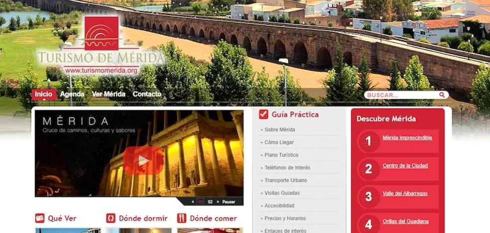 Piratean la web de Turismo de Mérida colgando dibujos y enlaces de contenido sexual