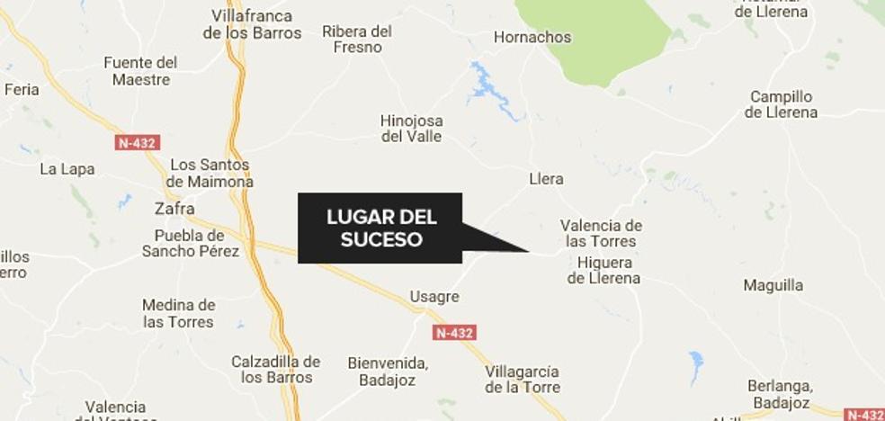 Una mujer herida 'menos grave' en un accidente en Valencia de las Torres