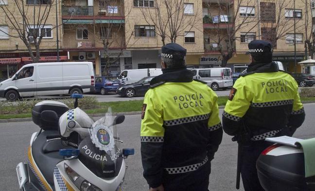 Detenido en Badajoz por golpear a su pareja y a una amiga que salió en su defensa
