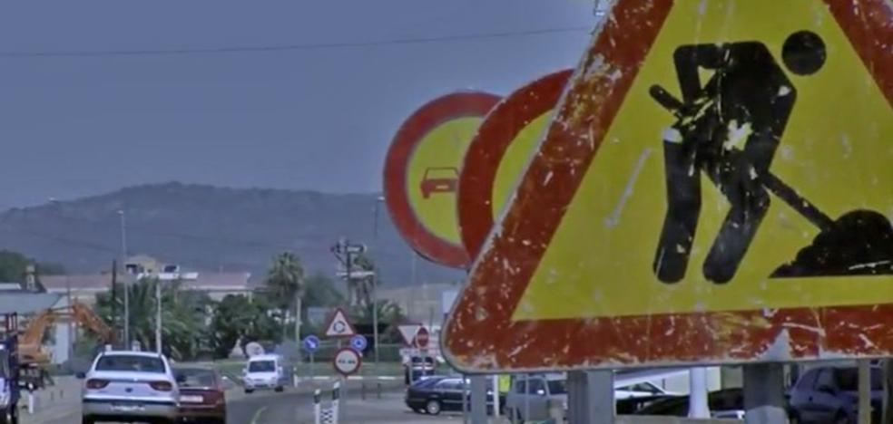 Las obras de la carretera de Guadalupe se paralizan y se reanudarán a mediados de enero
