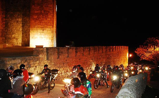 La III Ruta de las Antorchas reunirá en Trujillo a 150 moteros de la región