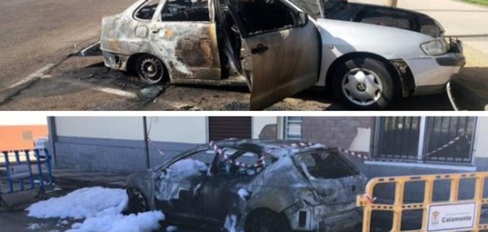 Aumentan un 40% las infracciones penales en Extremadura por quemar coches