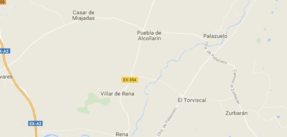 Una mujer de 40 años, con policontusiones tras salirse de la vía en un camino de El Torviscal