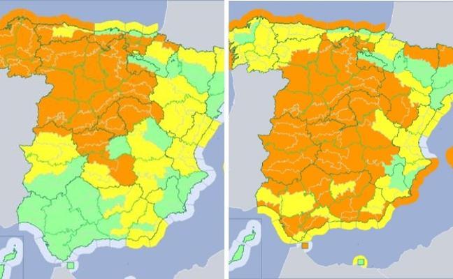 La borrasca 'Ana' traerá a España 24 horas de intensas lluvias y viento