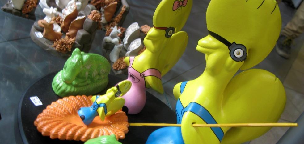 Aveiro acoge una exposición de más de mil belenes de artistas lusos