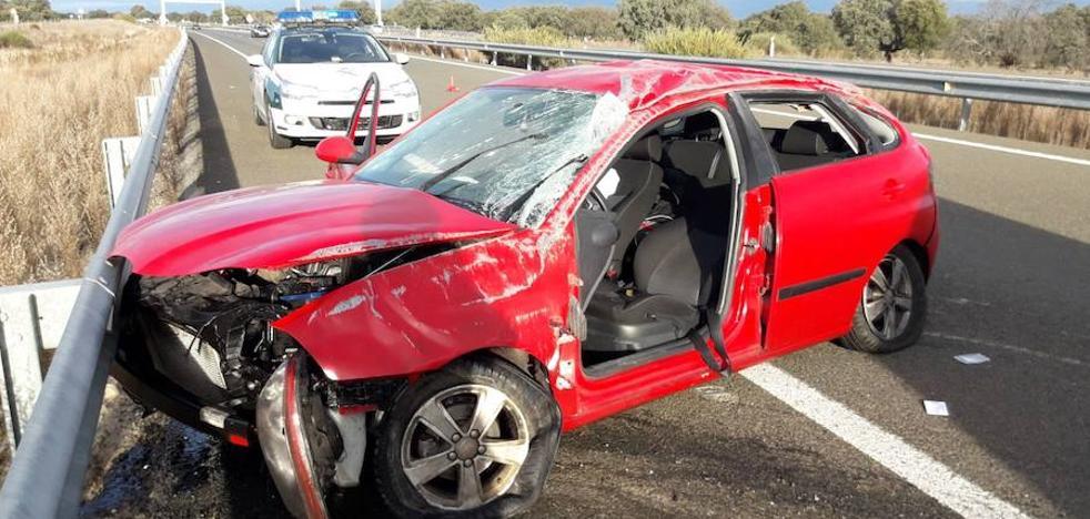 Seis heridos en las carreteras extremeñas durante el puente de la Constitución