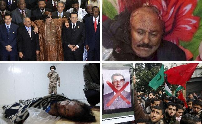 Los restos de la primavera árabe