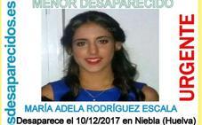 Buscan a una chica de 16 años desaparecida en Huelva desde el domingo