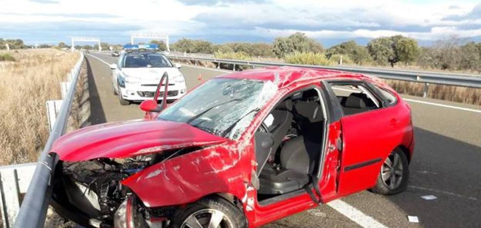 El 112 Extremadura atendió 70 accidentes de tráfico durante el puente