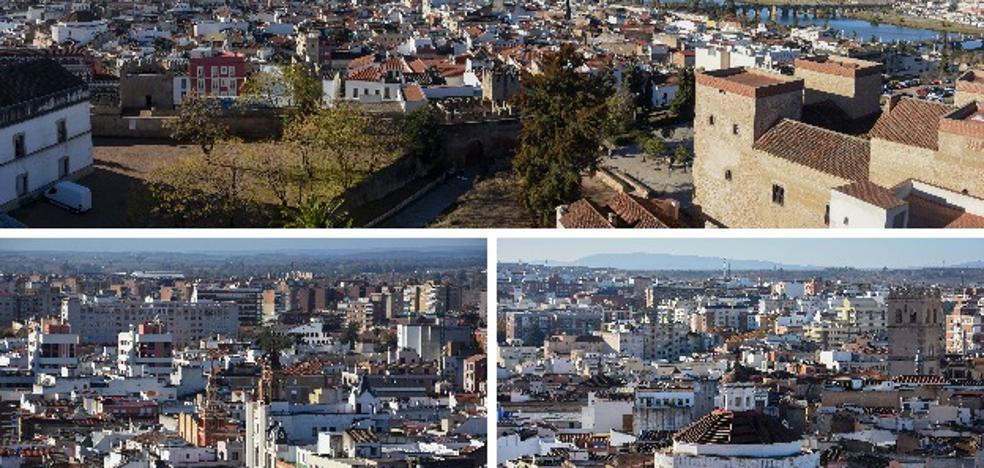 La torre de Santa María, el mirador de Badajoz